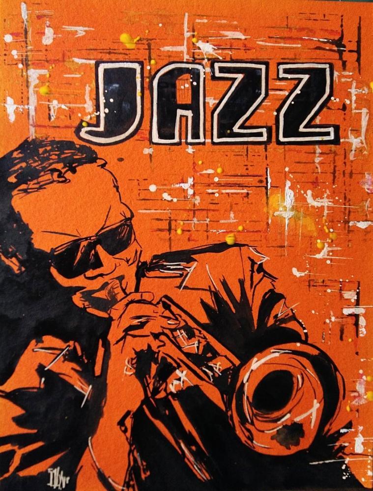 Miles Davis by aquarelle-autrement